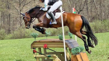 Martin Douzant winning Fair Hill Horse Trials on Frame Shamrock